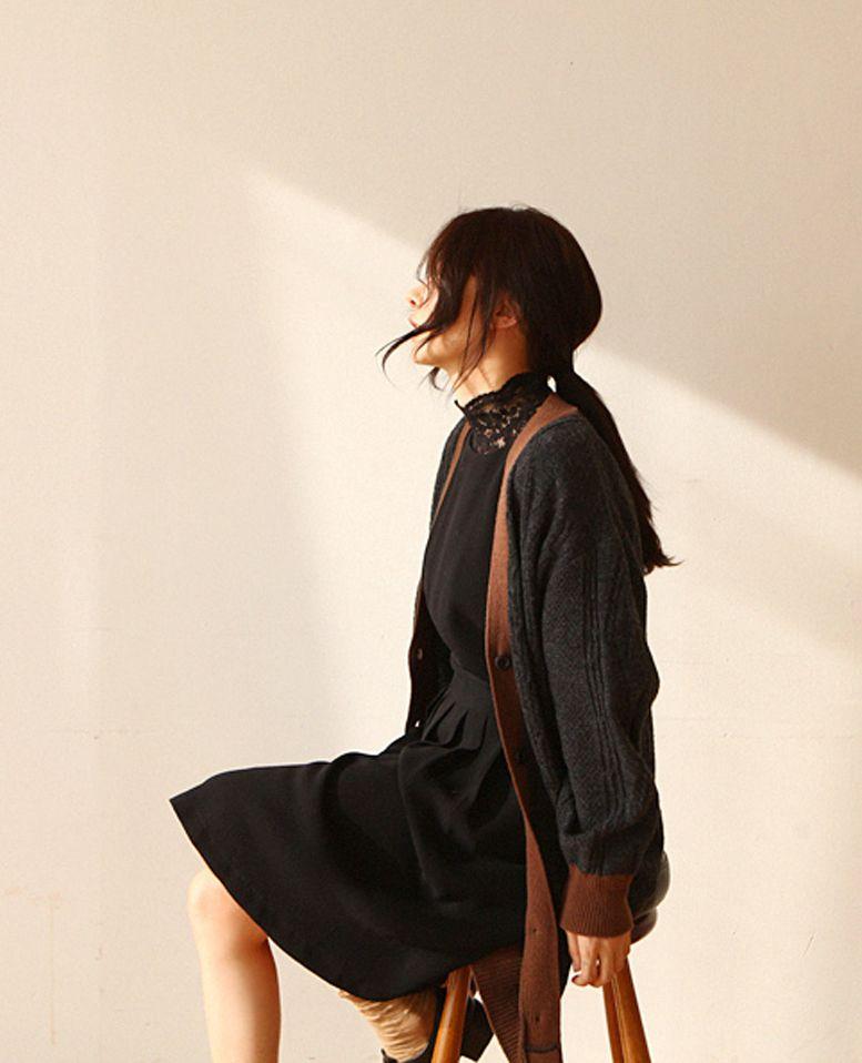 NAH - BRAND - Korean Fashion - #Kfashion - Nahnah50 Cardigan #KKAMI #womenfashion #NAH#cardigan #womenwear #wholesale #Kfashion #womenfashion - Wholesale info at info@kkami.nl. We ship worldwide.