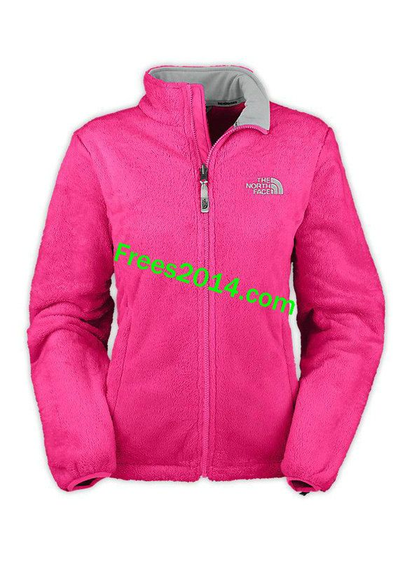 The North Face Osito Jacket Womens Passion Pink Grey | Closet ...