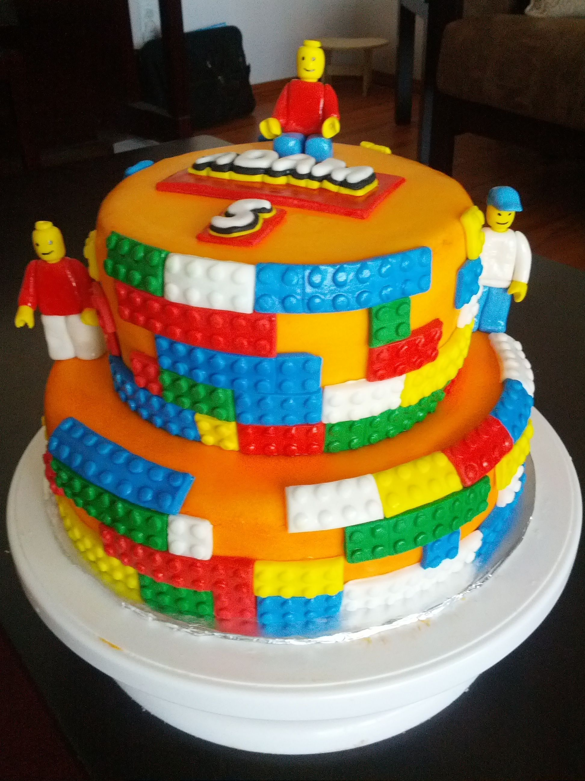 Awe Inspiring Lego Cake Lego Taart Marsepein Taart Taart Funny Birthday Cards Online Barepcheapnameinfo
