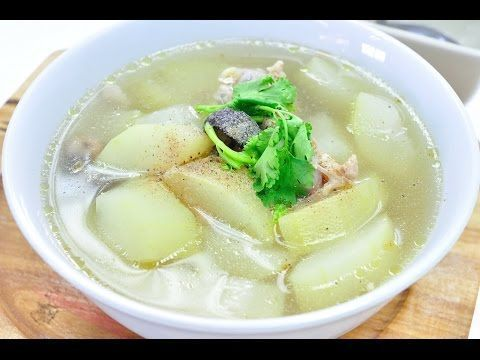 Winter Melon Soup with Chicken (Tom Jued Fak Kieaw Gai) - Easy and save cost menu but tasty! Natural sweetness of winter melon and salty flavor of fish sauce goes really well together. Just serve with steamed rice for simply delicious! #wintermelon Winter Melon Soup with Chicken (Tom Jued Fak Kieaw Gai) - Easy and save cost menu but tasty! Natural sweetness of winter melon and salty flavor of fish sauce goes really well together. Just serve with steamed rice for simply delicious! #wintermelon Wi #wintermelon