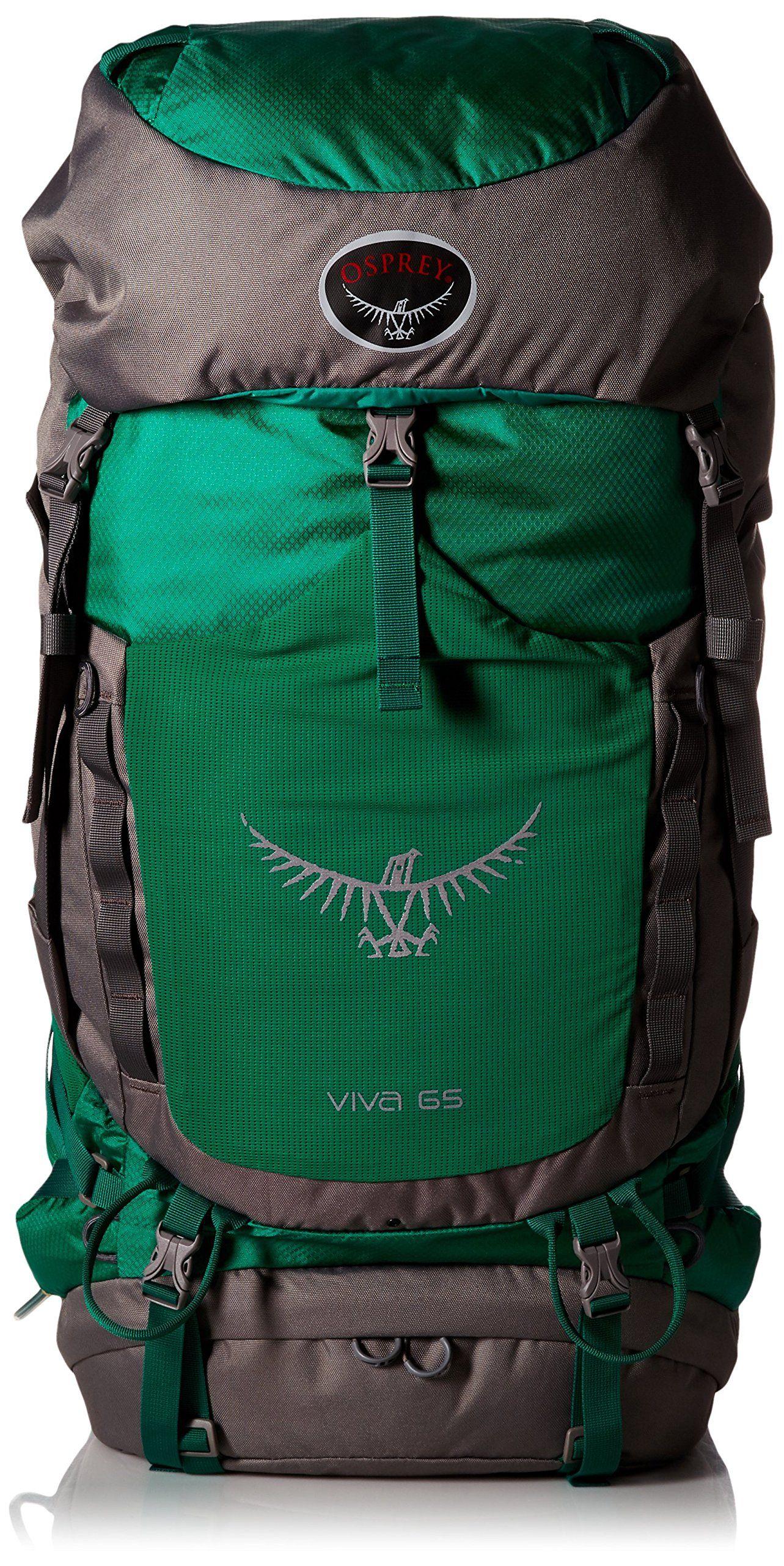 Osprey womens leather gloves - Osprey Packs Women S Viva 65 Backpack Sea Green