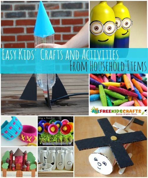 97 Simple Craft Ideas With Household Items Simple Craft Ideas With