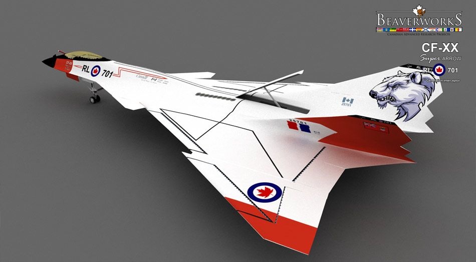 Superarrow The Next Avro Arrow That Is Underway To Production