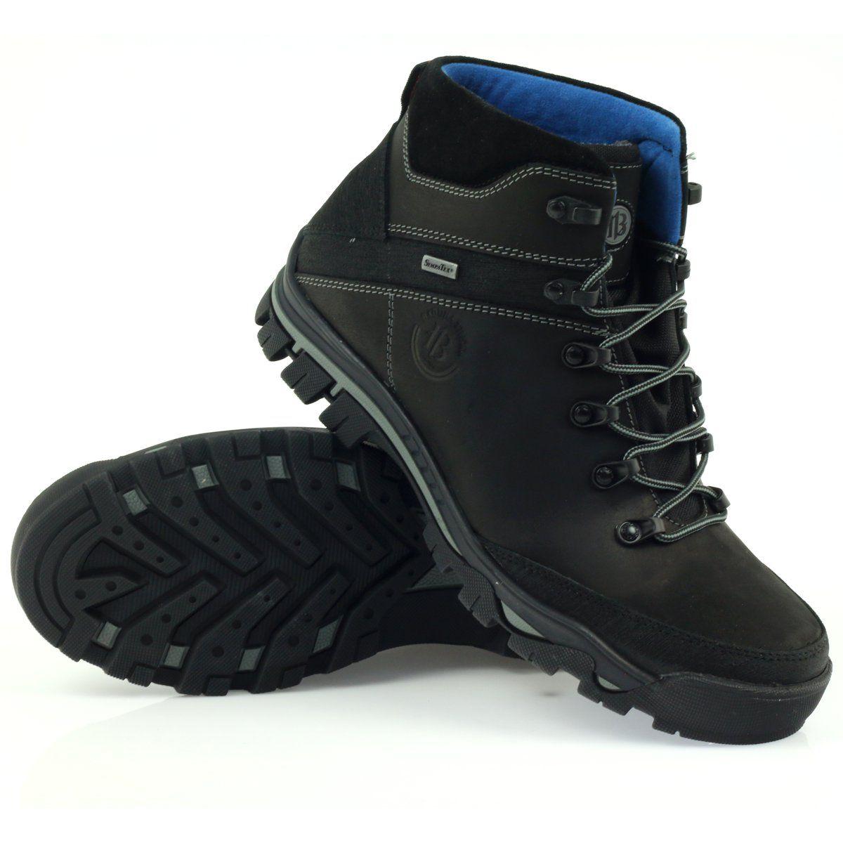 Trekkingi Z Membrana Czarne Badura 4616 Hiking Boots Boots Shoes