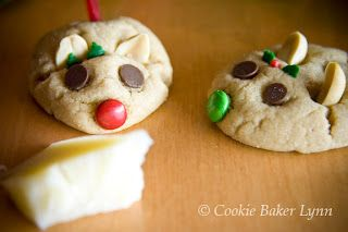 Peanut Butter Christmas Mice Cookies Oops Looks Like They Beat