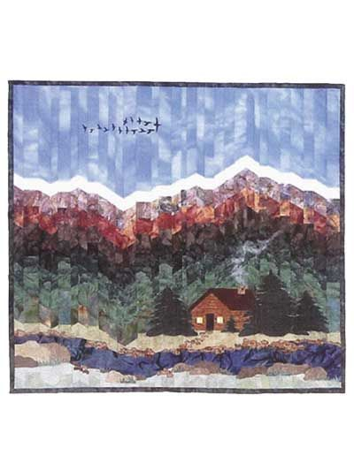 landscape bargello quilt pattern | Found on anniescatalog.com