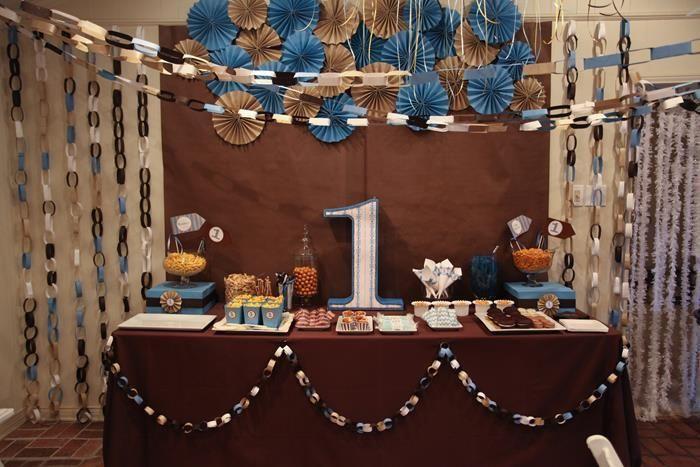 Pin by ideas para decoraci n on party decoration fiestas - Decoracion primer cumpleanos ...
