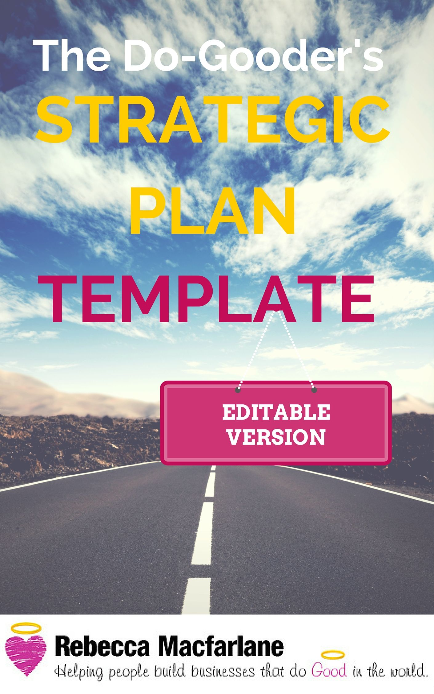 Strategic Plan Template  Editable Version  Five Year Plan