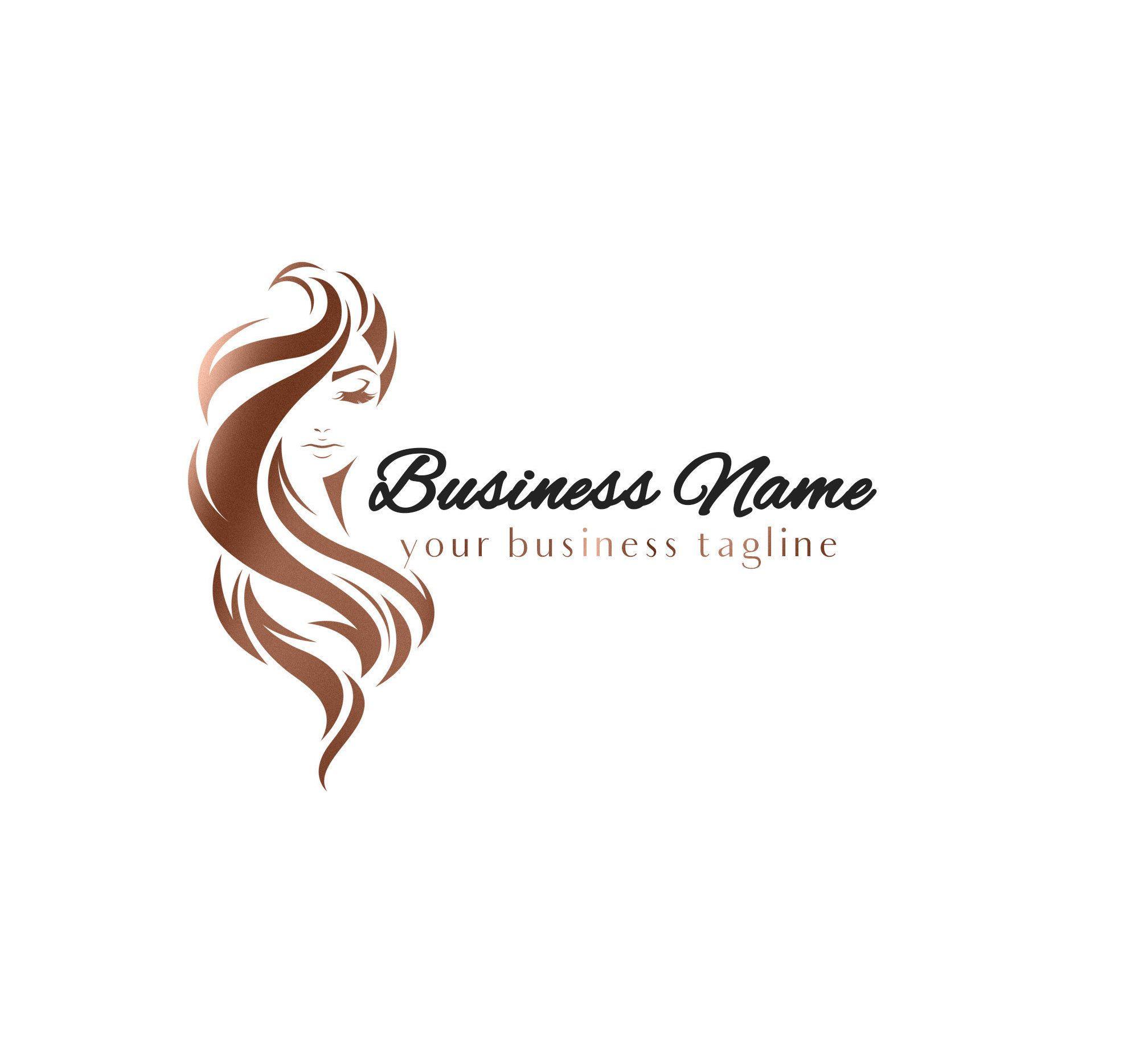 Hair Salon Logo Hairstylist Logo Hair Extensions Logo Hair Etsy Logo Salao De Beleza Logotipo De Salao Logotipo Cosmeticos