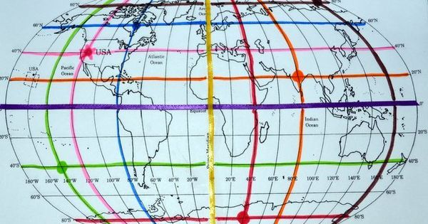 Free printable world map and mapping activity for learning about the free printable world map and mapping activity for learning about the equator prime meridian and latitude gumiabroncs Choice Image
