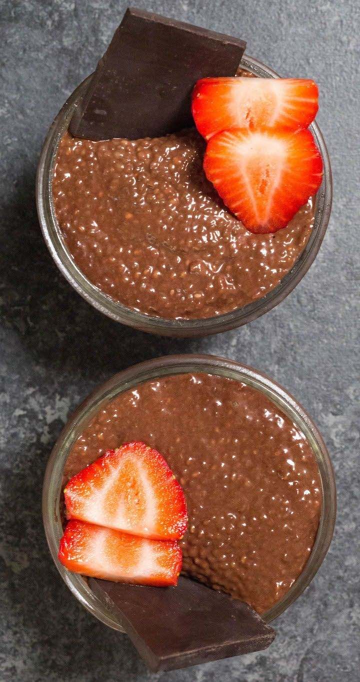 Chocolate Chia Seed Pudding Recipe - I Hate Meal Prep #chiaseedpudding