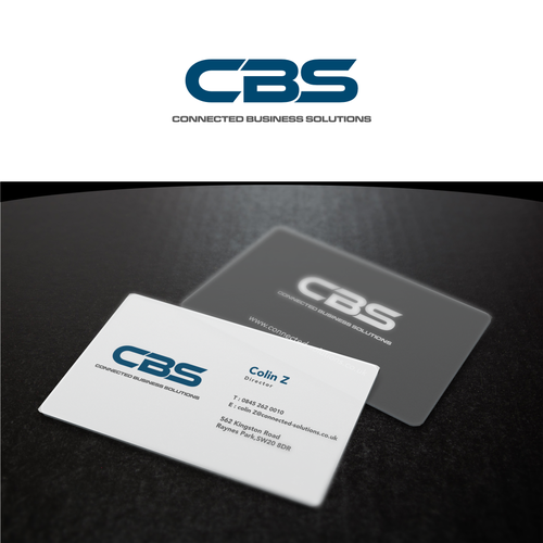 Connected Business Solutions Uk Network Cabling And Custom Audio Visual Company Lo Modern Business Cards Logo Business Card Logo Modern Business Cards Design
