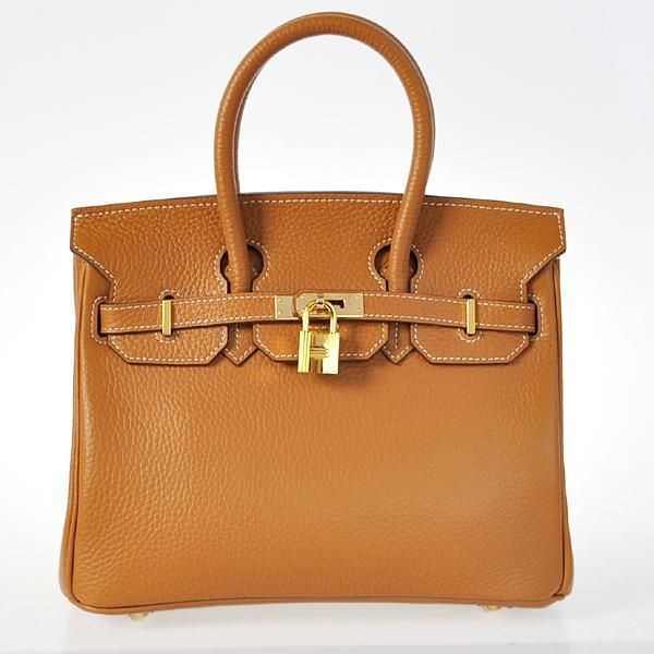 5ce91c4149 Cheap Replica Hermes Birkin Tote Bags Togo Leather Camel Godlen For Sale.  Sac Hermes Birkin 25cm Clemence Cuir Chameauea Hardware
