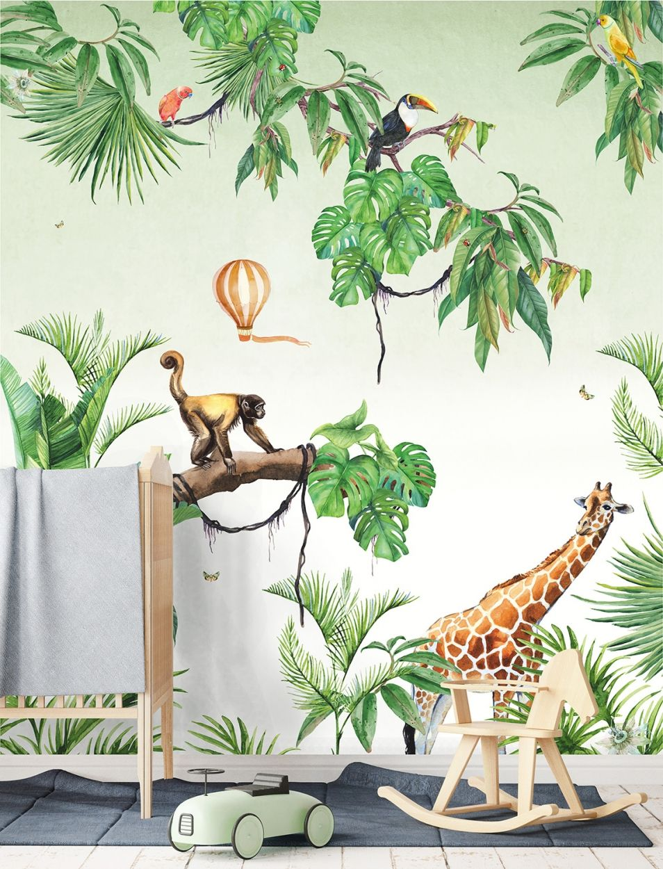Behang Kinderkamer Jungle.Webshop Creative Lab Amsterdam Mi Casa In 2019 Babykamer Jungle