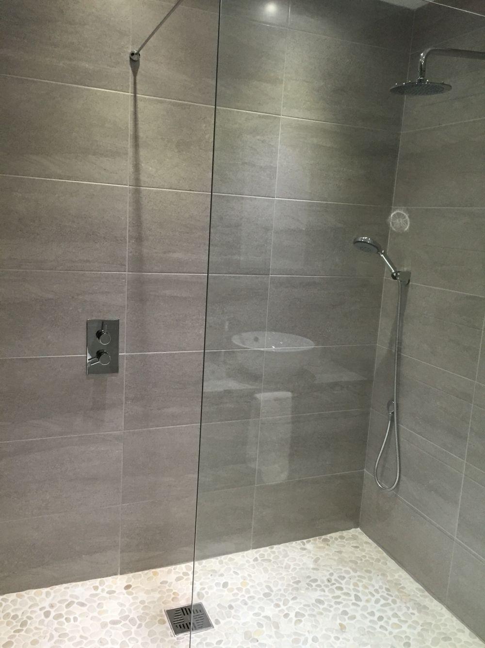 Grey Shower Room Modern Shower Room Shower Renovation Bathroom Remodel Shower
