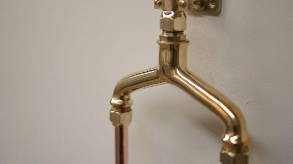 Solid Brass Shower Mixer | Outdoor Rainmaker Showers | Pinterest ...
