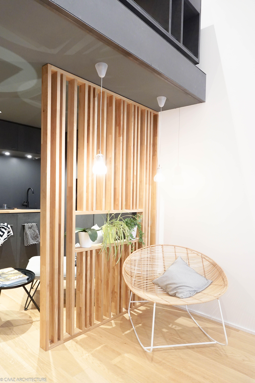 Claustra Bois Agence Caaz Architecture Grenoble Architecte Design