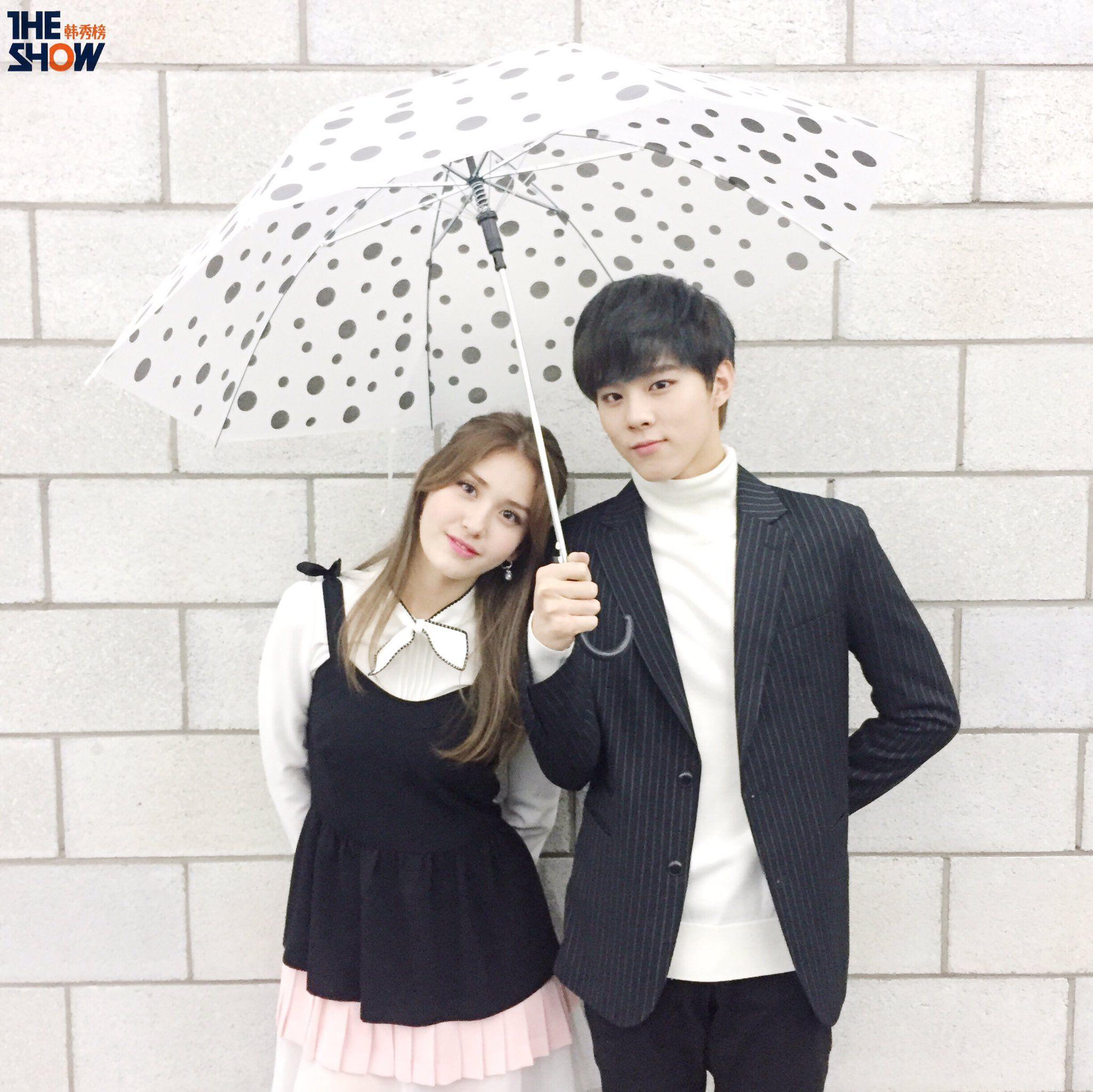 161024 UP10TION Wooshin & IOI Somi #IOI #Somi #THESHOW #THESHOW韩秀榜 #UP10TION #업텐션 #Wooshin #우신