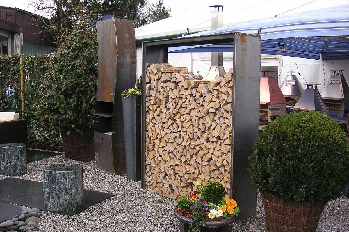 Bild von Holzlager B mit Blech oben esterni