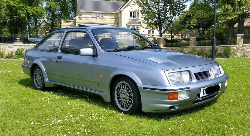 for sale ford sierra rs cosworth view ebay ad classic fords for. Black Bedroom Furniture Sets. Home Design Ideas