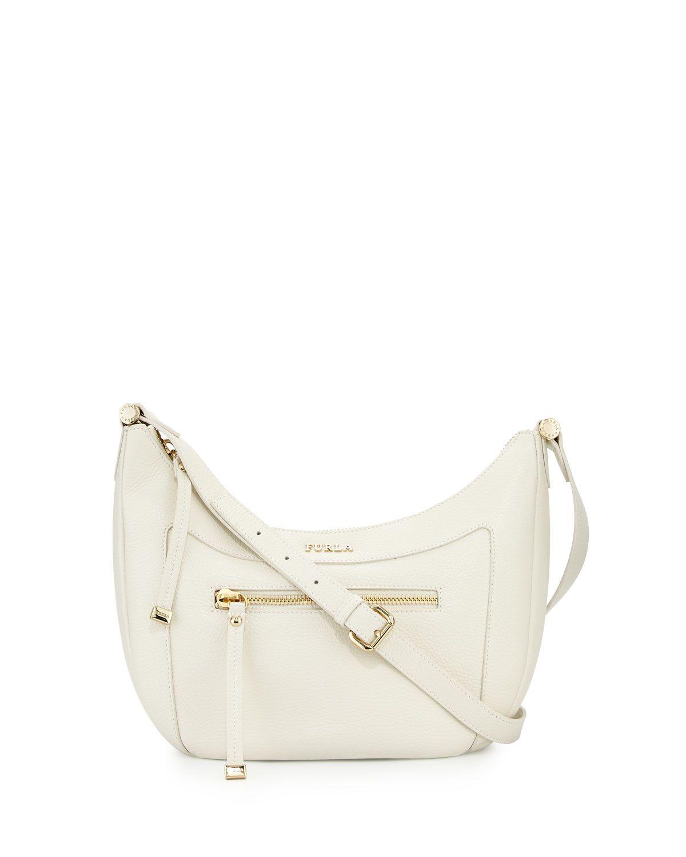 4245c7a3890b Furla Ginevra Small Leather Crossbody Bag
