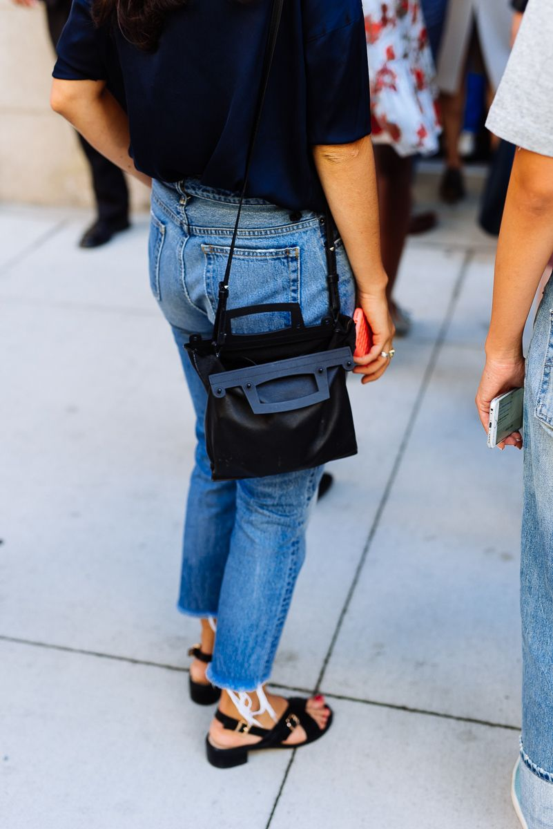 280e10de9511 Check out all of the best designer bags from street style outside of days 7  and 8 of New York Fashion Week.