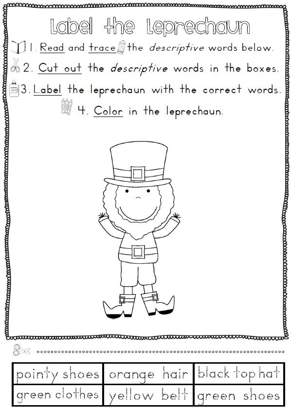 St Patrick S Day Reading And Writing Worksheets 36 Pages St Patrick Day Activities Clever Classroom Writing Worksheets