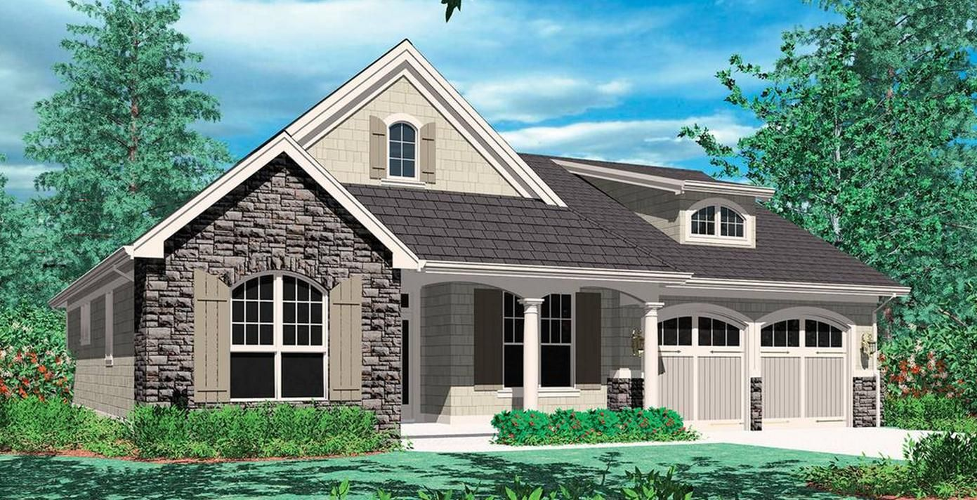 The Godfrey Prefabricated Home Plans Winton Homes 1500 Sq Ft Cottage Style House Plans Craftsman House Plans Cottage House Plans