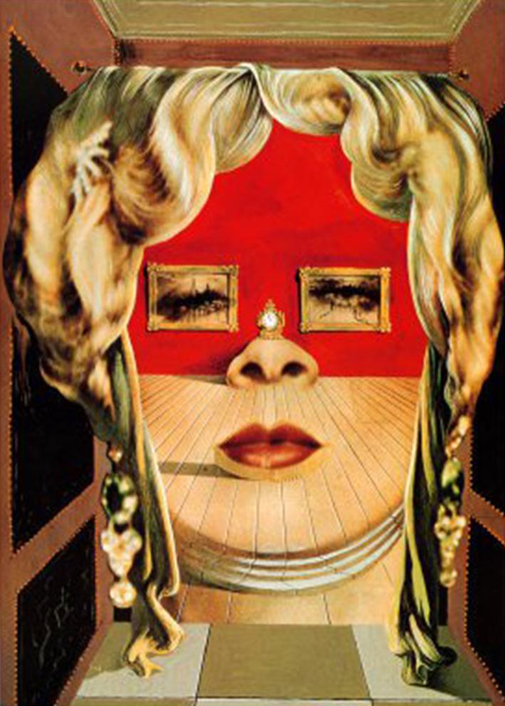 Mae West Lips Sofa Since 1936 Salvador Dalí