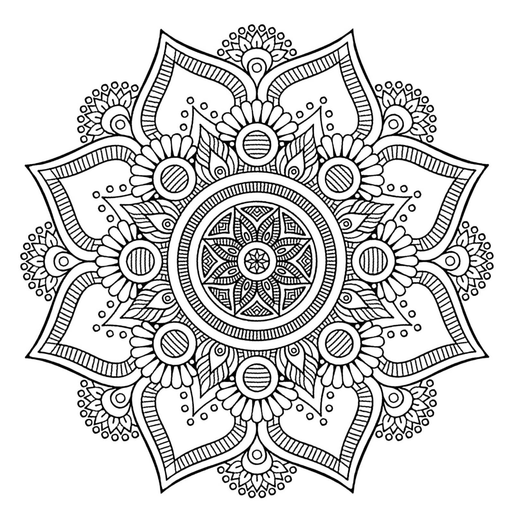 Mandalas To Color For Children Cute Free Mandalas Coloring Page To Download From The Gallery Mandala Coloring Mandala Coloring Pages Abstract Coloring Pages