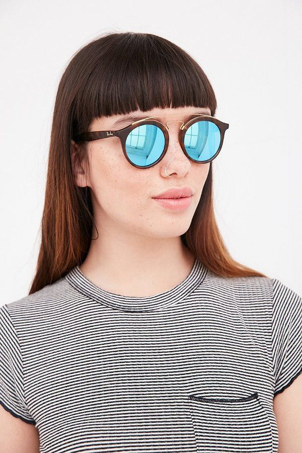 9cbce83c1 Ray-Ban Gatsby Round Sunglasses | All EYEs on me! | Round sunglasses ...