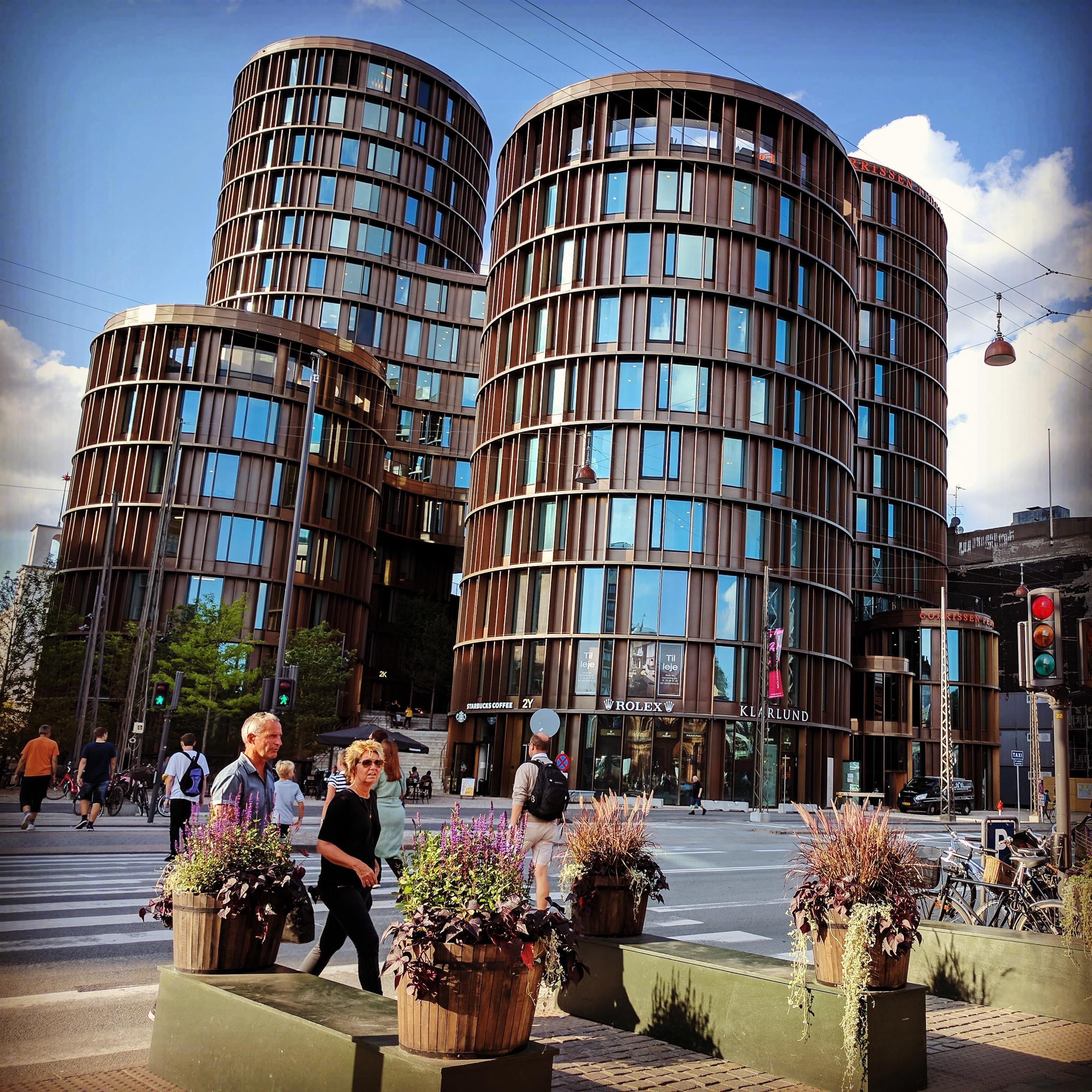 The Axel Towers Near the Tivoli in Copenhagen ...