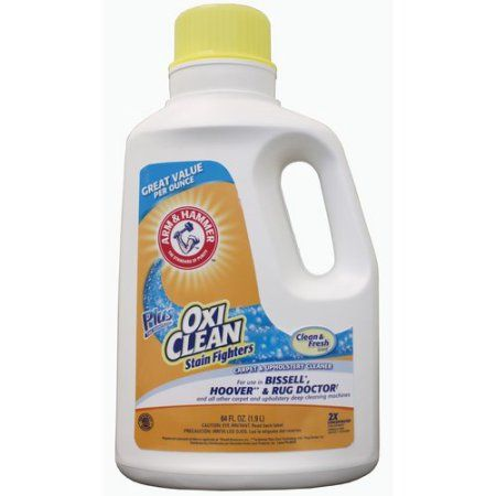 Arm Hammer Oxiclean Carpet Cleaner 64 Oz Oxiclean Carpet