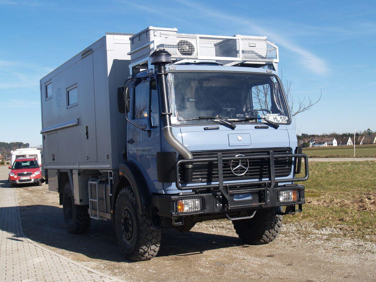 Die Entstehungsgeschichte - vom Bundeswehr LKW zum fertigen