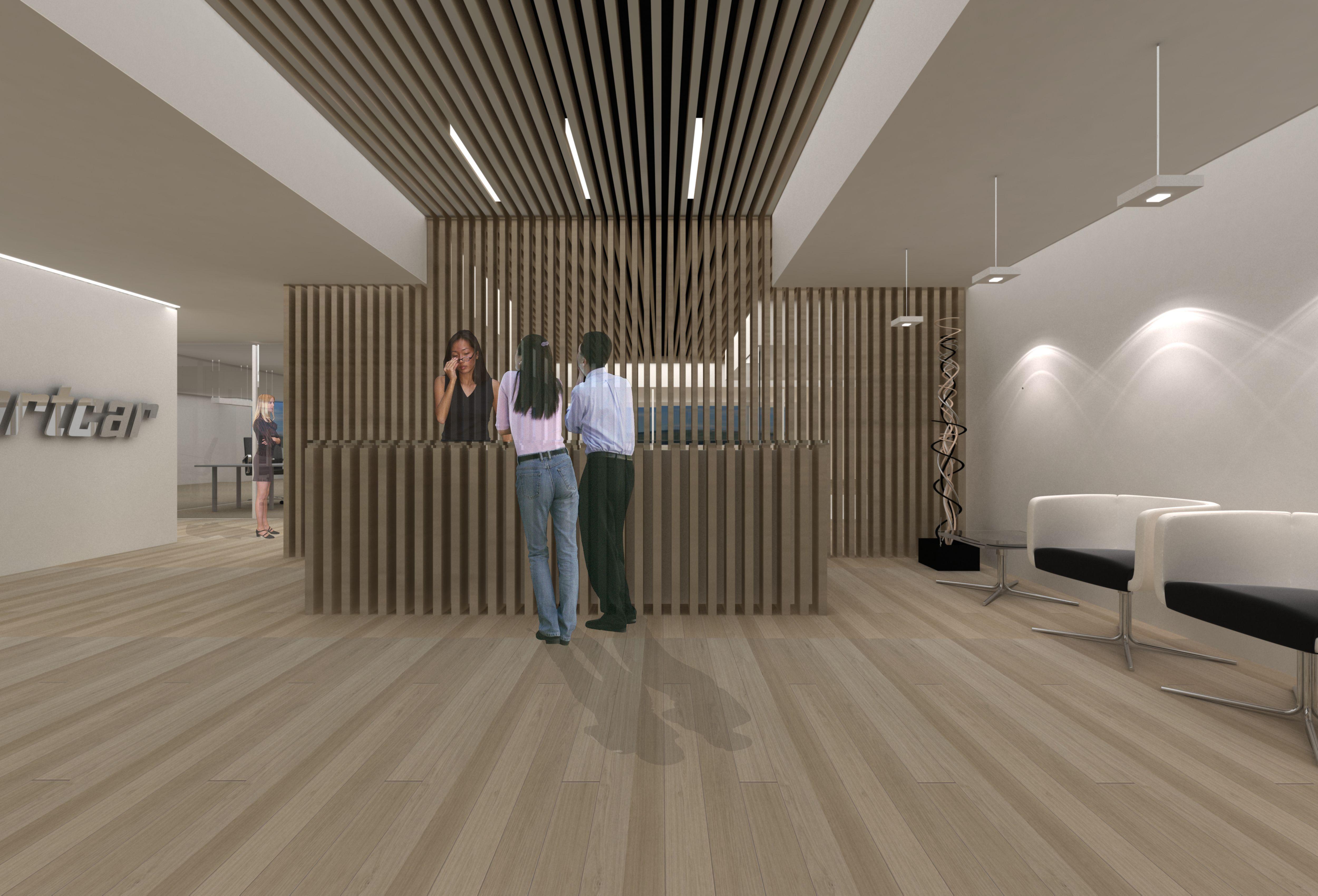 Proyecto Oficinas Balear Sport Car (Palma de Mallorca) Arquitectos ...