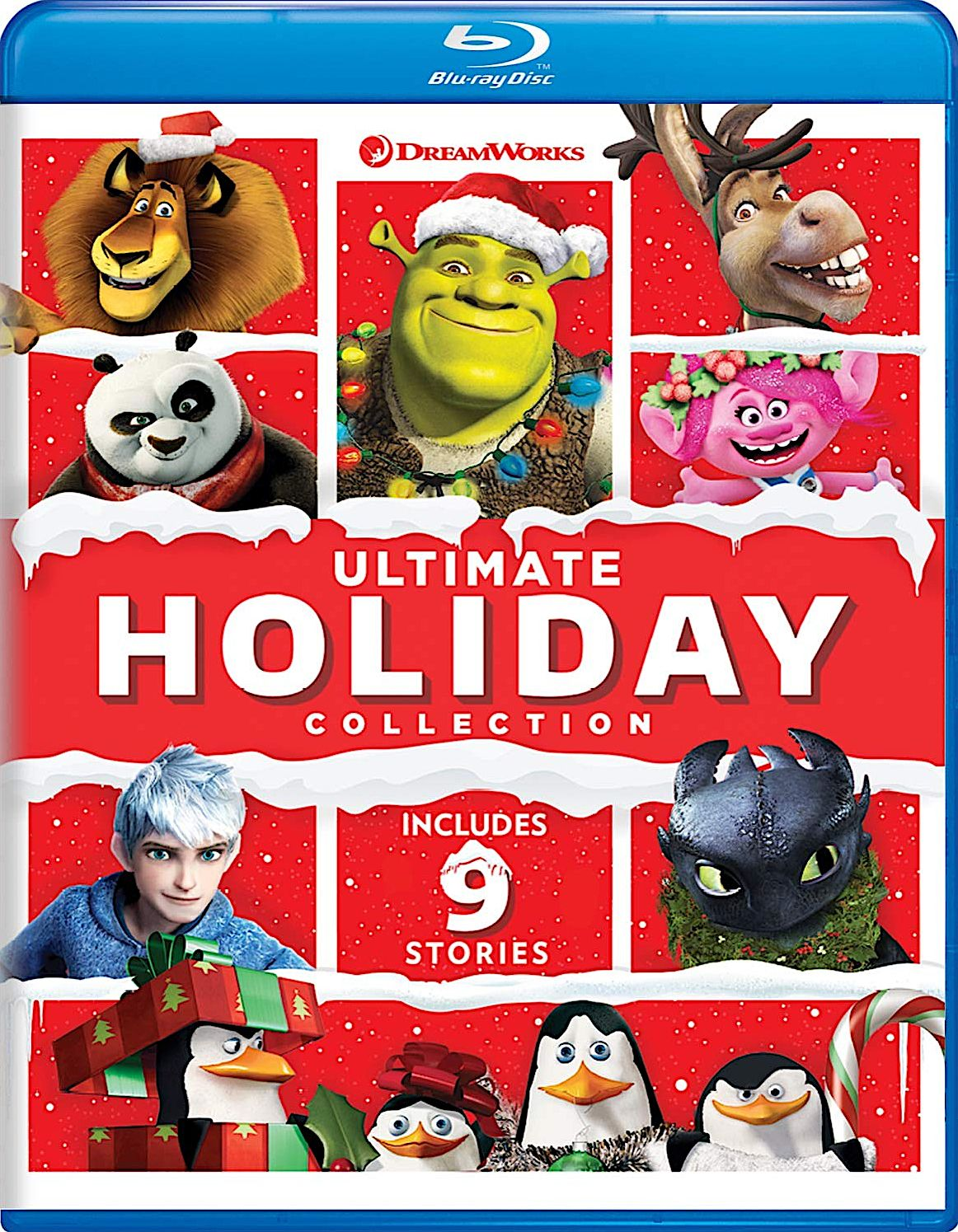 DREAMWORKS ULTIMATE HOLIDAY COLLECTION BLURAY SET