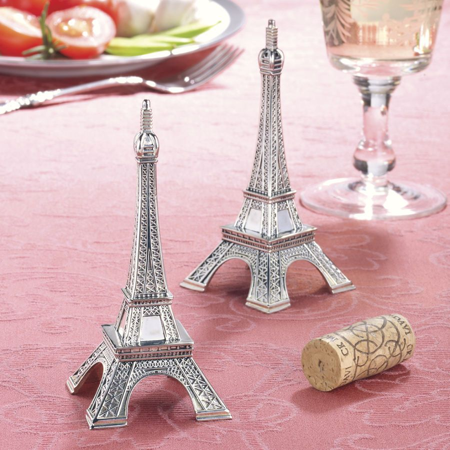 Eiffel Tower Salt And Pepper Set Furniture Home Decor Furnishings Accessories Gifts