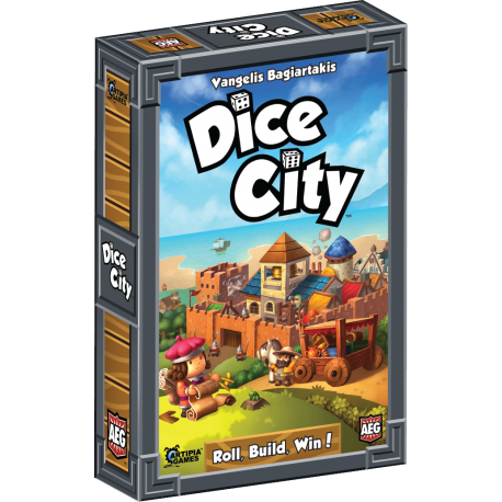 Dice City Dice Rolling Board Games City games, City