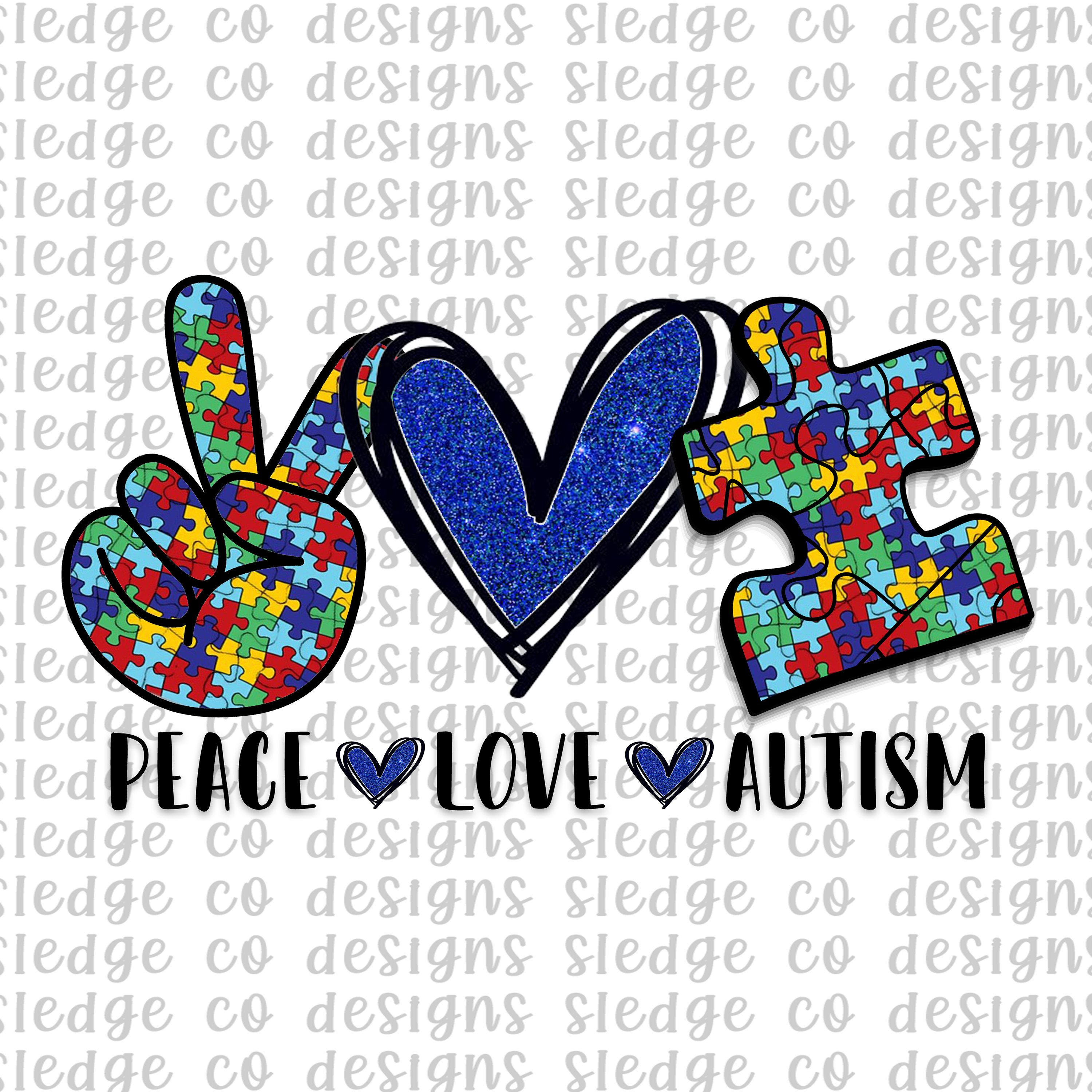 Accept Love Autism Awareness Sublimation Png Digital Download Accept Love Understand Png Autism Aware Autism Awareness Crafts Peace And Love Autism Awareness