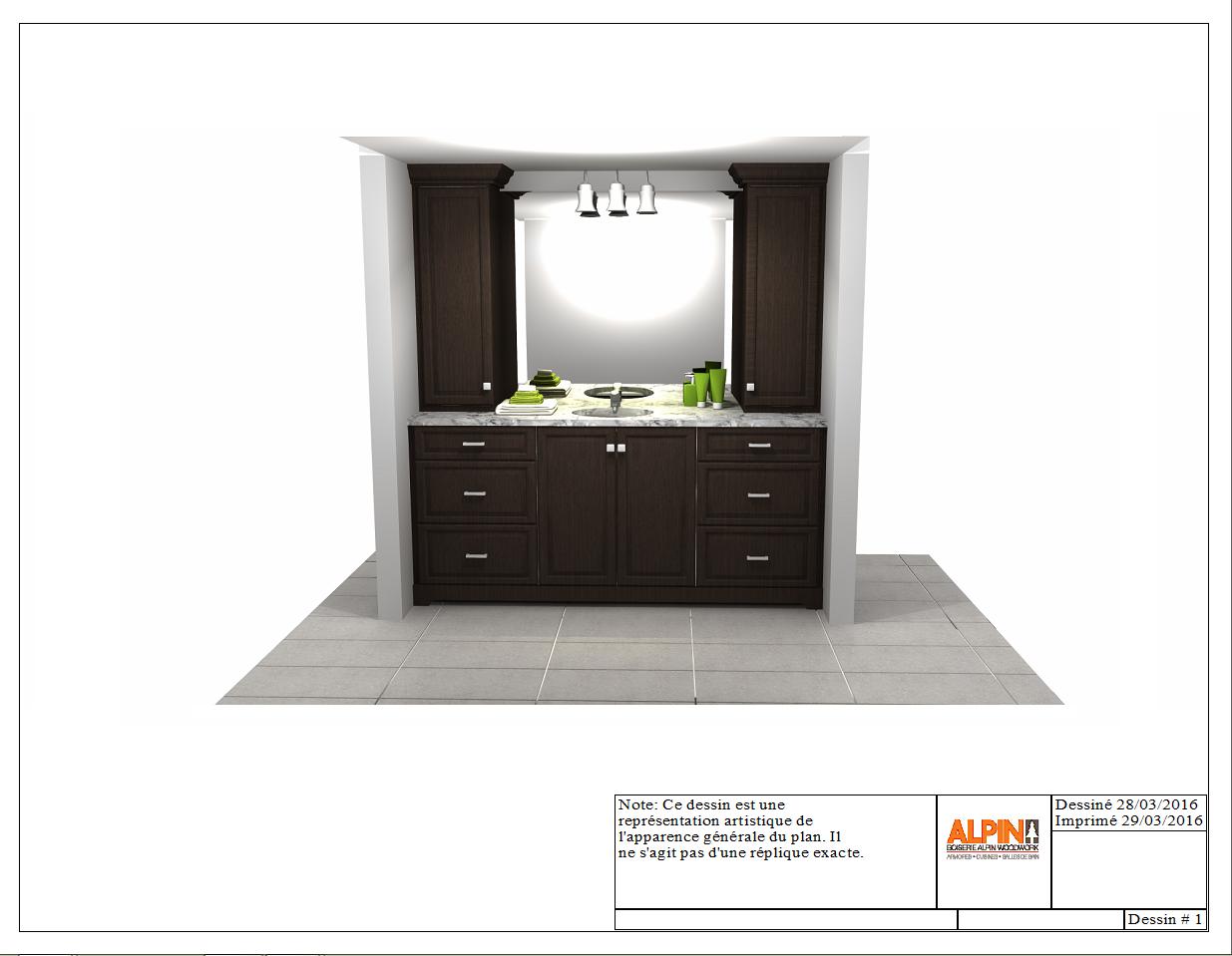 Bathroom Design 3d Concept Salle De Bain Alpin Armoire De