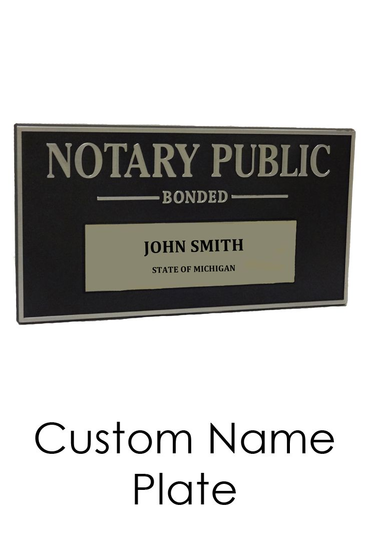 Your Notary Public Display Sign Ensures Everyone That Enters Your Office Knows The Services You Provide Notary Public Notary Notary Supplies