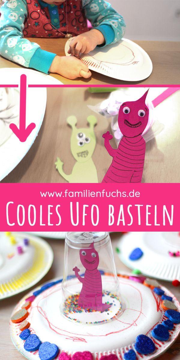 So kannst du ein geheimnisvolles Ufo basteln   familienfuchs 🦊