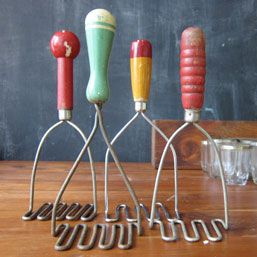 Collection of 50's Potato Mashers