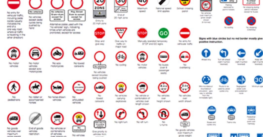Quia - Traffic & Road Sign Test - part 2