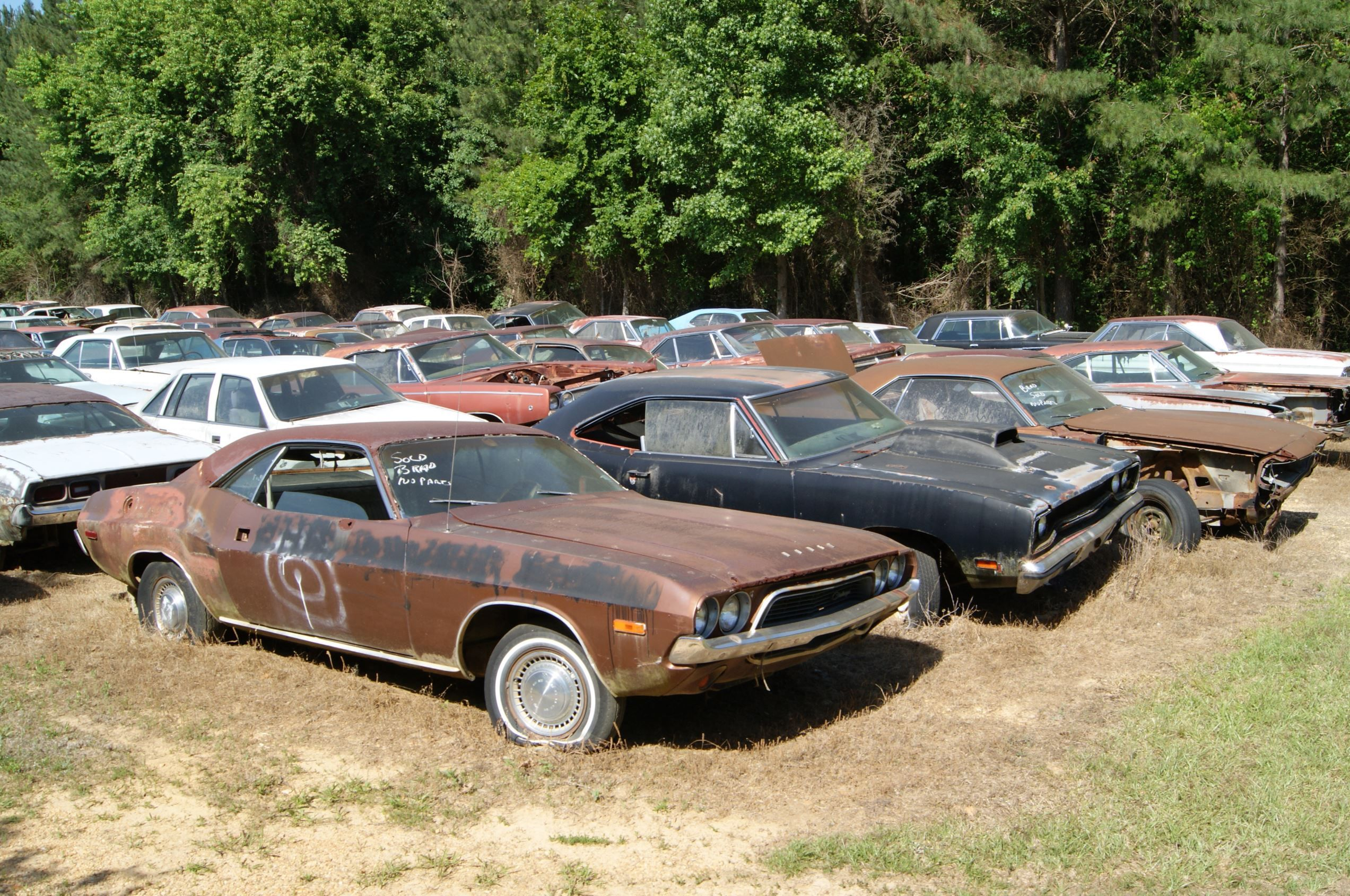 Junk Yards Muscle Car Graveyards