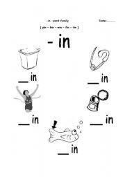 english worksheet  in word family  pat programme  pinterest  &