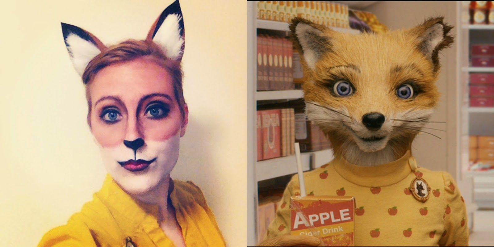 Halloween Re Cap Felicity Fox Fantastic Mr Fox Costume Fox Costume Diy World Book Day Costumes