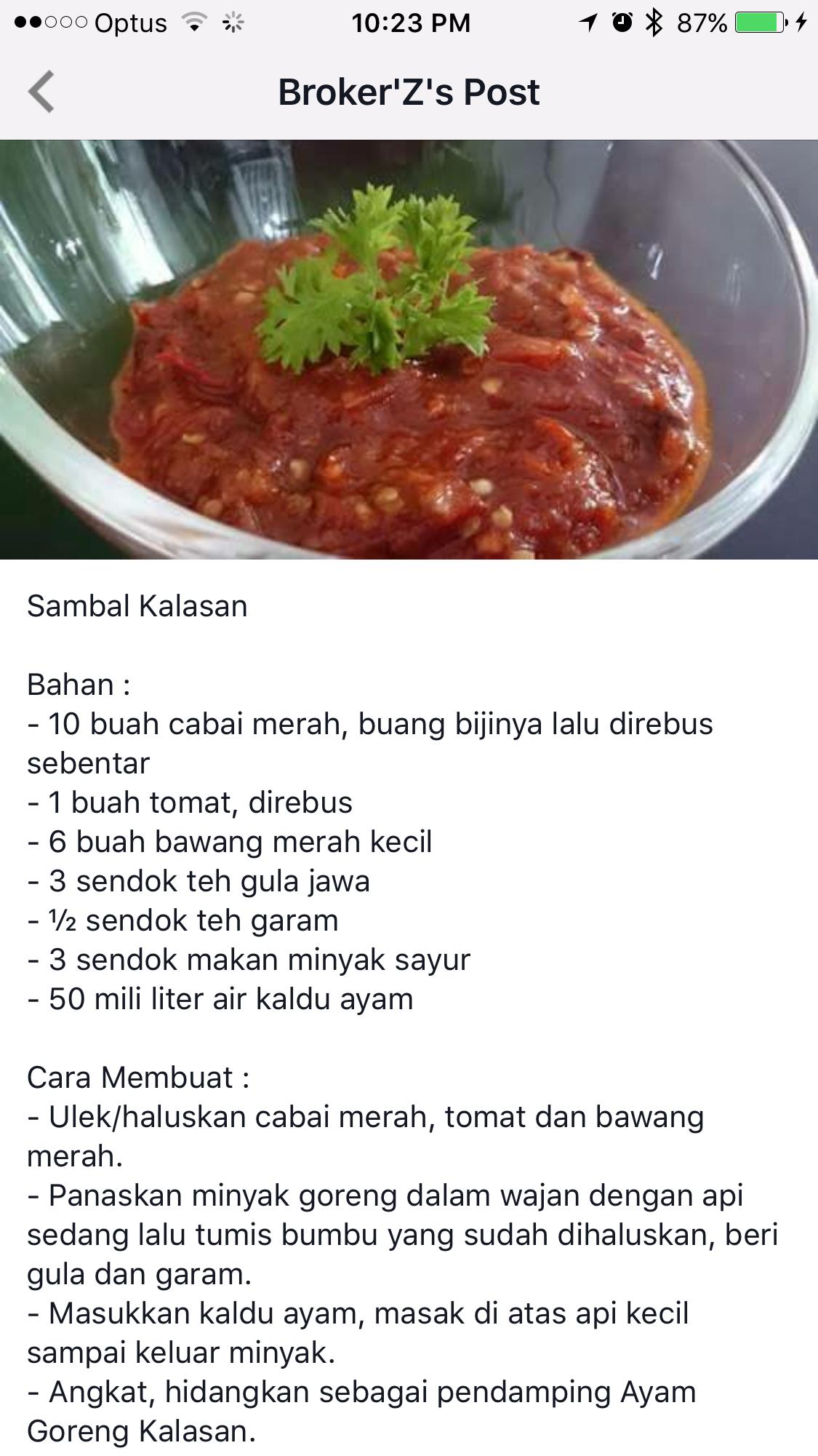 Pin Oleh Cisca Kosuma Di Resep Aneka Sambal Resep Masakan Makanan Dan Minuman Masakan Indonesia