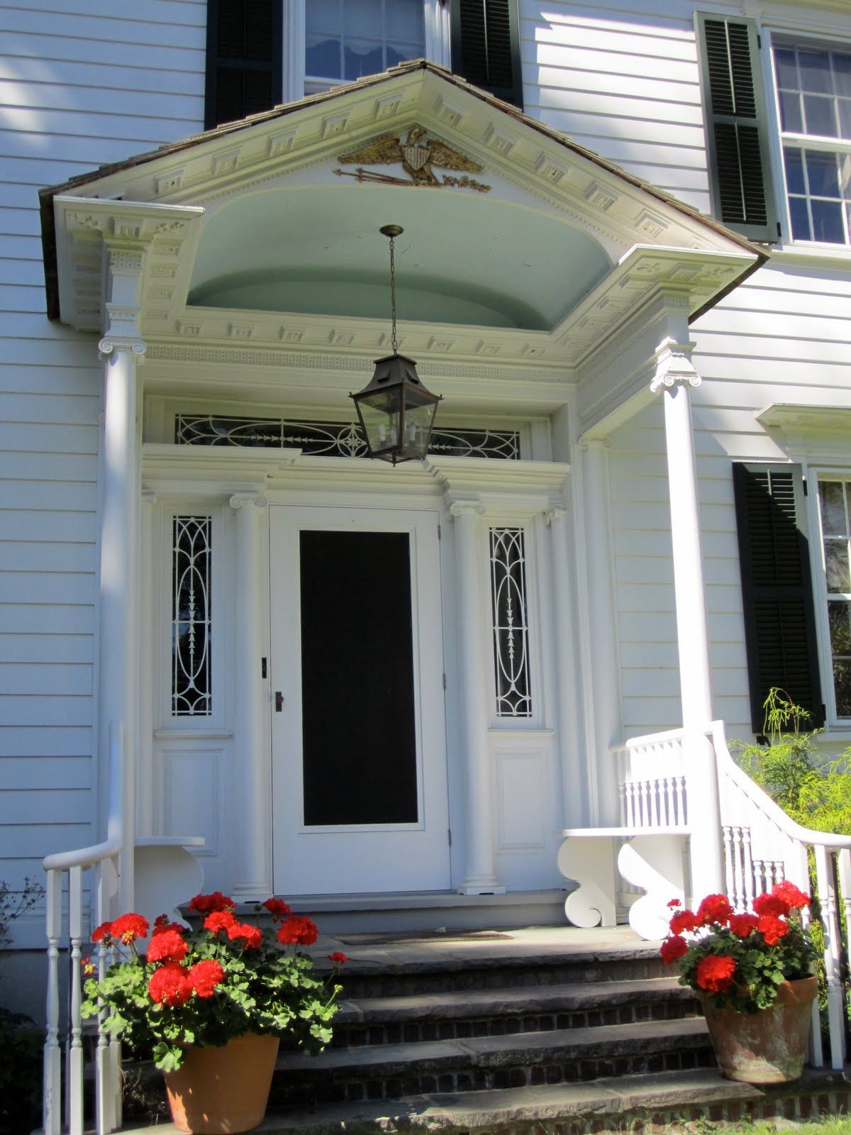 Colonial Porch Over Front Door Pin It 1 Like 1 Image