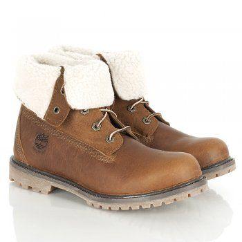 1248014c302e91 Timberland Brown Teddy Fleece Fold Down Boot Women's Boot | Purses ...